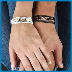 love arrow matching couple bracelets his and hers
