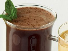 peppermint tea hot chocolate