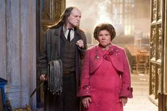 """2007 - """"Harry Potter and the Order of the Phoenix"""" - Argus Filch and Deloris Umbridge."""