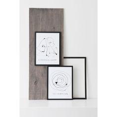 Be Yourself poster – Ylva Skarp – Kjøp møbler online på ROOM21.no