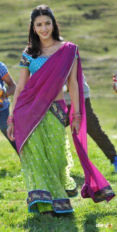 Shruti Hassan Photos & Pictures - A collection of Shruti Hassan Pics & Images who is biggest Actress of Tamil & Tamil Movies. Indian Actress Photos, Bollywood Actress Hot Photos, Beautiful Bollywood Actress, Most Beautiful Indian Actress, Beautiful Asian Girls, Beauty Full Girl, Beauty Women, Shruti Hassan, Saree Photoshoot