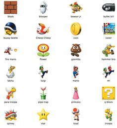 Mario Brother New Super Mario Bros Icons By Markdelete On