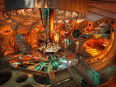 Great pic of the inside of the eleventh doctor's TARDIS