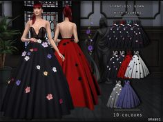 As soon as I see this dress in Golden Globes 2019 I thought that this dress should be in Sims So I decided to create it. Found in TSR Category 'Sims 4 Female Everyday' The Sims 4 Pc, Sims 4 Cas, Sims Cc, Sims 4 Wedding Dress, Sims 4 Dresses, Party Dresses, Sims4 Clothes, Sims 4 Clothing, Clothing Sets