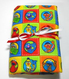 Sesame Street Flannel Fitted Toddler Sheet Crib by KidsSheets, $21.99