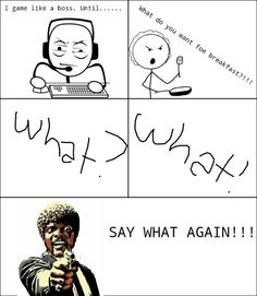 I made a rage comic! Lol *like*