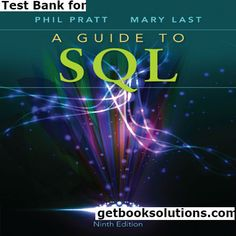 Test bank for managerial economics and strategy 2nd edition by test bank for a guide to sql edition by pratt solutions manual and test bank for textbooks fandeluxe Gallery