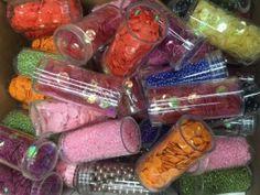 Offerta perline e paillettes 30 blister per collane e braccialetti