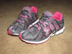 My Under Armour running shoes... love 'em!