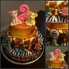 Lion King Cake, and yes i do want this for my 25th birthday next year please :)