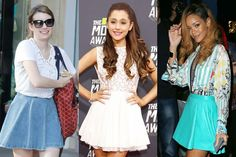 8 Ways to Wear a Skater Skirt (Inspired by Stylish Stars!) | Teen Vogue