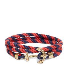 Kiel James Patrick Lanyard Hitch Cord Bracelet whatagemjewelry.com