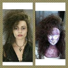 Preorder wig harry potter movie Bellatrix cosplay by MadCosplay