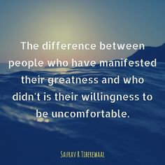 What where when and how are you refusing to be uncomfortable that keeps you from manifesting your greatness?  #sauravrtiberewaal #accessconsciousness #life #pgsep #saoge #question #empowerment #learning #uncomfortable #manifest #greatness #willingness #quotes #quotelover #quotesdaily #quotestagram #quoteoftheday #sea #water #quotestags #picture #thursdays