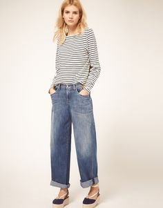 citizens of humanity for asos loose boyfriend jeans