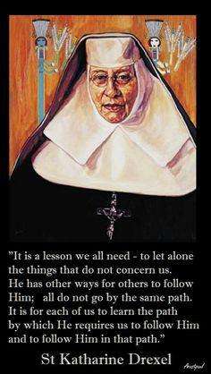 ~St. Katharine Drexel