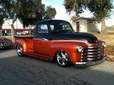 Grandpa's 'Fity 3' Gilbert Carmona's classic custom Chevy truck.