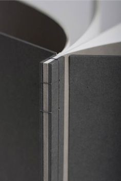 Japanese stab binding. Look at the way the cover is split.