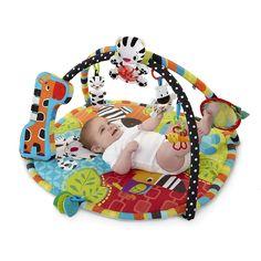 Bright Starts, Aktywna mata dla niemowlaka, Żyrafa