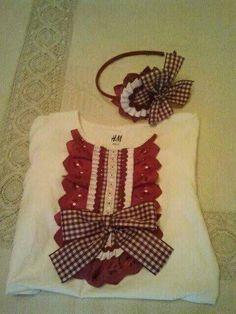 Blusa con tira bordada