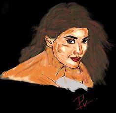Sriya Saran - Digital Art by Praneeth Uppalapati in Others at touchtalent 75720
