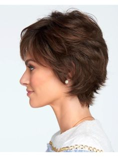 Wigs - Wanna go short but not too short? The Voltage Elite Wig is on the cusp of everything... Barely waved, lightly layered and just full enough!