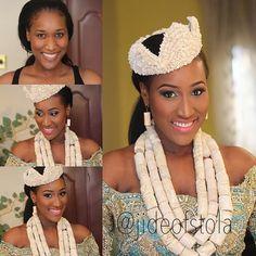 Jide of St Ola Nigerian Wedding: 20 Beautiful Rivers/ Ijaw Brides, Their Style, & Their Flawless Makeovers | Nigerian Wedding