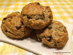 A healthy Spelt Quinoa Scones Recipe - more ways to use spelt flour and a great way to add quinoa into a baked item. Easy and quick to make. Try it!