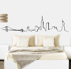 25 Washi Tape Wall for Inspiration to Channel Creative Ideas in Right Place Bedroom Murals, Bedroom Wall, Wall Murals, Bedroom Decor, Wall Decor, Simple Wall Paintings, Washi Tape Wall, Cool Dorm Rooms, My Room