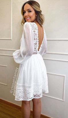 Simple Dresses, Casual Dresses, Fashion Dresses, Summer Dresses, Wedding Rehearsal Dress, Cheap Wedding Dress, Civil Wedding Dresses, Wedding Gowns, Confirmation Dresses