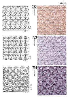 1000 - Donna Taylor - Álbuns da web do Picasa Crocheting Patterns Book 300 Japanese craft book by MeMeCraftwork 40 Free Crochet Stitches from Daisy Farm Crafts Sample squares to try with pictures T-shirt Au Crochet, Crochet Motifs, Crochet Shirt, Crochet Diagram, Crochet Books, Crochet Stitches Patterns, Love Crochet, Crochet Designs, Stitch Patterns