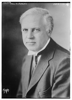 Paul M. Pearson , photo by The Library of Congress-Dr. Paul Martin Pearson (October 22, 1871 – March 26, 1938) was an author, college professor, and a very embattled first civilian Governor of the United States Virgin Islands