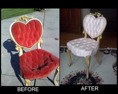This is a fabulous vintage Vanity Seat. High quality cast metal ...