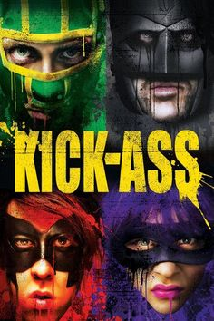 Kick-Ass on Blu-ray from Lions Gate Films. Directed by Matthew Vaughn. Staring Clark Duke, Christopher Mintz-Plasse, Aaron Johnson and Chloe Grace Moretz. More Action, Comedy and Dark Comedy DVDs available @ DVD Empire. Movies 2019, Hd Movies, Movies To Watch, Movies Online, Movies And Tv Shows, Movie Tv, Movies Free, Nicolas Cage, Batman Poster