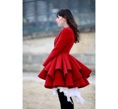 Street looks à Paris, jour 2 - Fe[male] coat! <3 @ Isabel Buganu