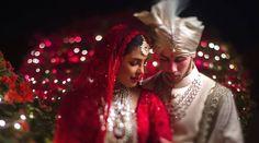 Sabyasachi Wedding Lehenga, Red Wedding Lehenga, Bollywood Wedding, Red Lehenga, Bollywood Couples, Indian Lehenga, Bollywood Stars, Bollywood Celebrities, Bridal Lehenga