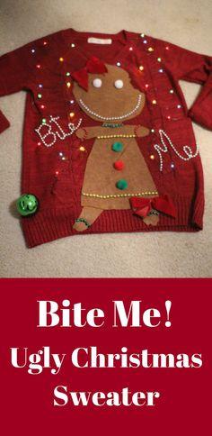 Humorous Ugly Christmas Sweater | Ugly Christmas Sweater | Christmas | Women | Holiday Apparel | Humor #ad