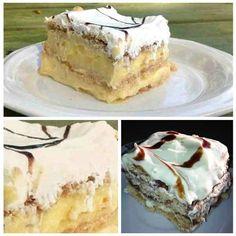 4 MOM Recipes |   Easy 3 Ingredient No Bake Pudding Cake