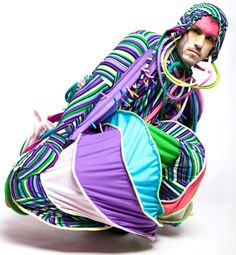 Andrea Saltzman - roupas performáticas