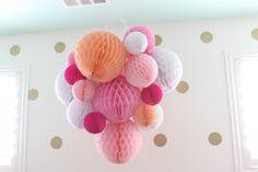 Honeycomb Balls in Nursery