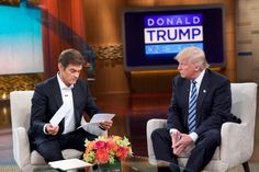On 'Dr. Oz,' Trump Offers Placebo Transparency - The New York Times