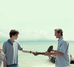 Call me by your name handshake