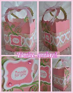 Valentine favor bag