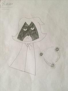 Raven-Teen Titans Teen Titans, Raven, Amazing Art, Diys, My Arts, Drawings, Ravens, Bricolage, Sketch