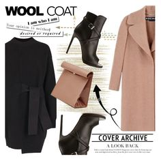 """""""Wool Coat"""" by nazan-m ❤ liked on Polyvore featuring Rochas, Élitis, Proenza Schouler, Yves Saint Laurent and woolcoat"""