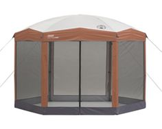 Coleman Canopies  colema shelter 12x10 back home screened