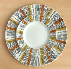 Ceramic plate set inspiration   Sienna by Jessie Tait, 1960s