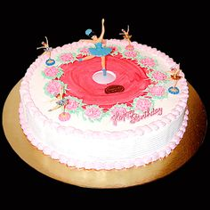 """Gâteaux d'anniversaire """"Danseuse"""" ,  Gourmandise, créateur de goût"""