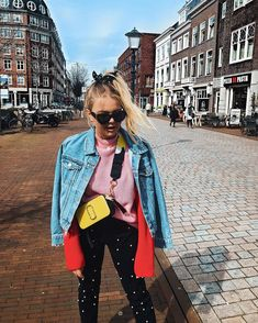 Iris Nijboer spotted with our Marc Jacobs Snapshot Bag in Sunshine