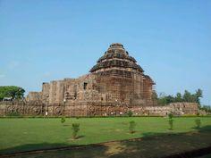 Konark Sun Temple in Puri, Odisha seems like a close relative to the Khajuraho temples. An easy day trip from Bhubaneshwar.